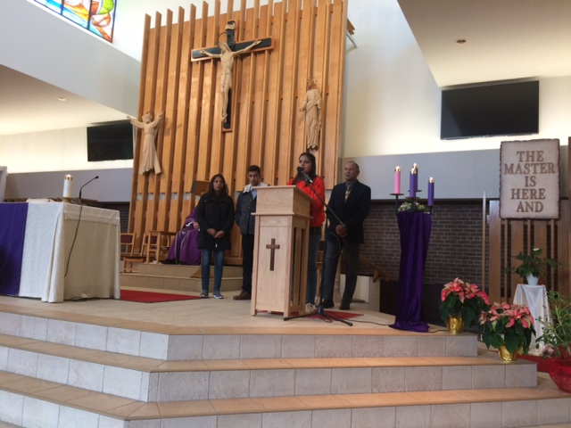 Faris family in St andrew Church